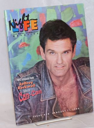 Night Life: the total community magazine; #630, January 11, 1995: Jeffrey Rockwell stars in...