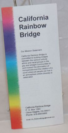 California Rainbow Bridge [brochure