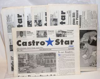 Castro Star: The Castro's neighborhood newspaper, vol. 1, #1, April, 2004 - vol. 1, #9, December,...