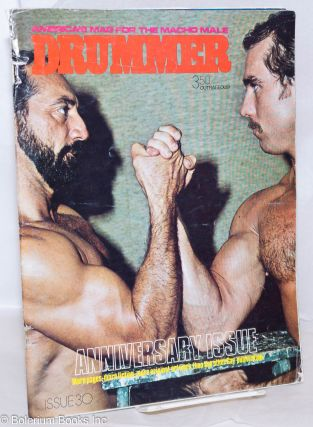Drummer: America's Mag for the macho male; #30, 1979; Mr. Benson. Jack Fritscher, David Sparrow...