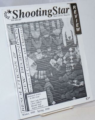 Shooting star review: Black literary magazine. Vol. 3, #4/vol. 4#1, Winter 1989/Spring 1990...