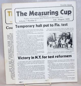 The Measuring Cup [Vol. 1 no. 5 and no. 7, two issues