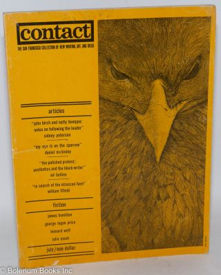 Contact: the San Francisco collection of new writing, art, and ideas. vol. 4 no. 1 (July 1963