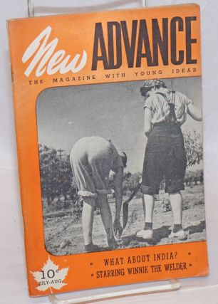 New Advance, July-Aug. 1943; The Magazine with Young Ideas. Bea Chalett, Grace Fugler