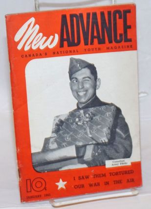 New Advance, Jan. 1943; Canada's National Youth Magazine. Bea Chalett