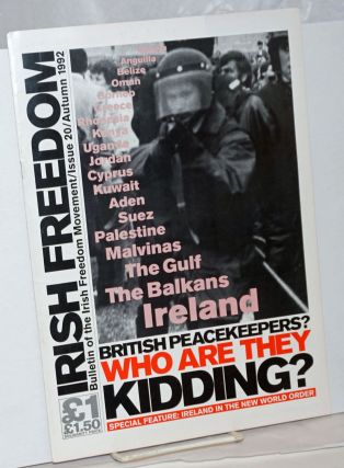 Irish freedom: Bulletin of the Irish Freedom Movement. No. 20 (Autumn 1992