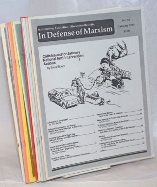 Bulletin in defense of Marxism [11 issues]. Paul Le Blanc, Editorial Board, Jean Tussey, Rita...