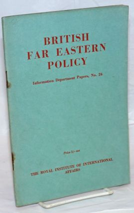 British Far Eastern Policy