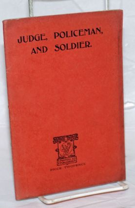 Judge, Policeman, and Soldier: A Comparison of International with National Methods of Dealing...