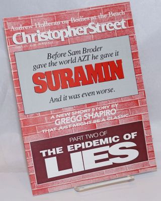 Christopher Street: #171; The Epidemic of Lies part two. Charles L. Ortleb, Andrew Holleran...