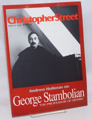 Christopher Street: #173; The Epidemic of Lies part four. Charles L. Ortleb, Andrew Holleran...