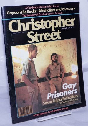 Christopher Street: vol. 3, #6, January 1979; Gay Prisoners: sexual politics behind bars. Charles...