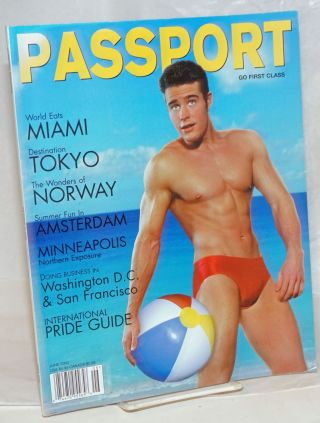 Passport Magazine: go first class; vol. 2, #9, June 2002; Miami, Tokyo, Norway, Amsterda,...