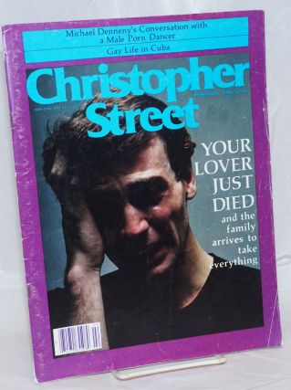 Christopher Street: vol. 4, #6, February 1980; Your lover just died. Charles L. Ortleb, Richard...