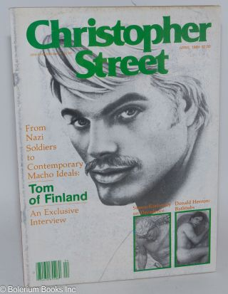 Christopher Street: vol. 4, #8, April 1980; Tom of Finland Interview. Charels L. Ortleb, Tom of...