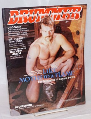 Drummer #25, February, 1989; Like Moths to Flame. Fledermaus, Aaron Travis Jack Fritscher, Rex,...