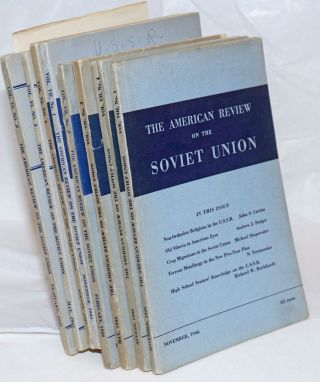 American Review on the Soviet Union [eight issues