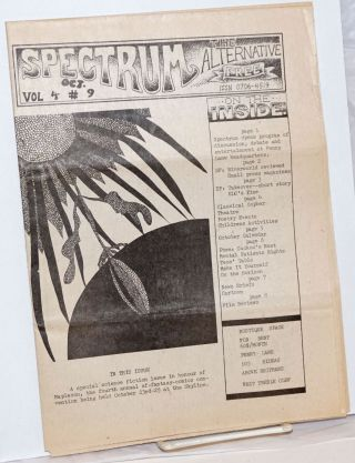 Spectrum, Vol. 4, No. 9, Oct. 1981 (newspaper); The Alternative