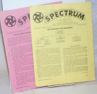 Spectrum, July & August 1976 (two issues) Fostering the emergence of a new universal person and a...
