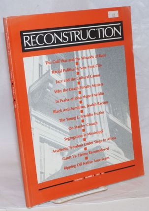 Reconstruction. Vol. 1 no. 3