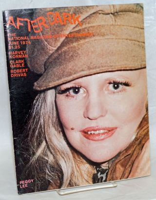After Dark: the national magazine of entertainment vol. 7, #2, June 1974: Peggy Lee. Como....