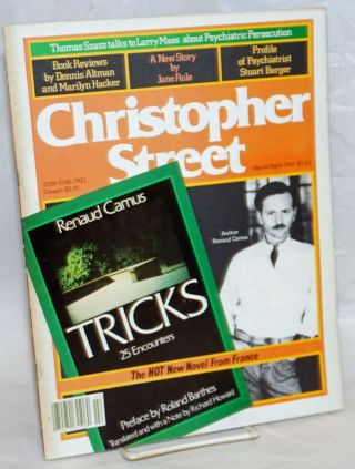 Christopher Street: vol. 5, #5 March/April 1981: Renaud Camus; Tricks; 25 encounters. Charles L....