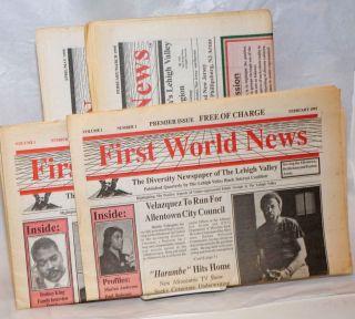 First world news: The diversity newspaper of the Lehigh Valley [four issues