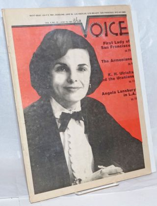 The Voice: more than a newspaper; vol. 3, #13, June 19, 1981; Dianne Feinstein; First Lady of San...