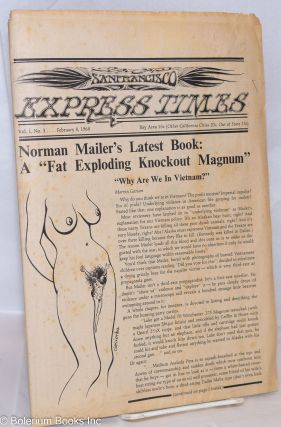 San Francisco Express Times, Vol.1, No.3, February 8, 1968. Marvin Garson, Robert Novick