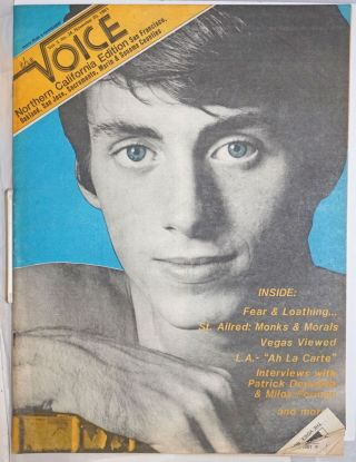 The Voice: more than a newspaper; vol. 3, #24, November 20, 1981; Northern California edition;...