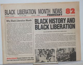 Black Liberation Month News. February '82