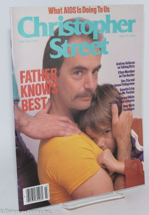 Christopher Street: vol. 7, #3, issue #75, April 1983; Father Knows Best & Waht AIDS is Doing...