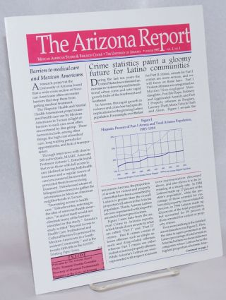 The Arizona Report: Mexican American Studies & Research Center newsletter; vol. 1, #1, Winter 1997