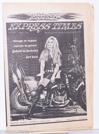 San Francisco Express Times, Vol.1, No.7, March 7, 1968. Marvin Garson, Robert Novick, Michael...