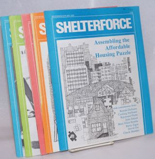 Shelterforce Vol. 11, No. 4, December/January, 1989 to Vol. 12, No. 2, Oct/Nov/Dec 1989. Woody...