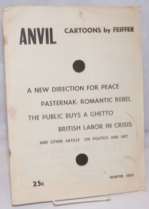 Anvil, a student socialist magazine and student partisan. Vol. 10, no. 1 (Whole Number 18),...