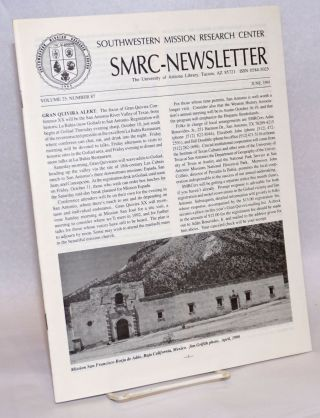SMRC - Newsletter; Volume 25, Number 87; June 1991