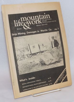 Mountain life & work, the magazine of the Appalachian South, February-March 1977, vol. 53, no. 2