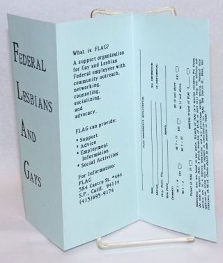 Federal Lesbians And Gays [brochure]