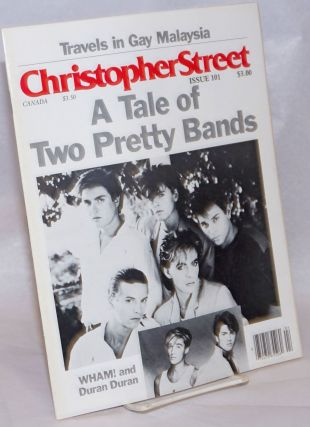 Christopher Street: vol. 9, #5, whole issue #101, June 1985; A Tale of Two pretty Bands. Charels...