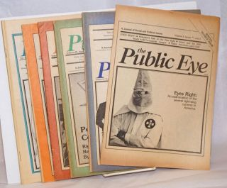 The Public Eye: A Journal of Social and Political issues Concerning Repression in America [6...