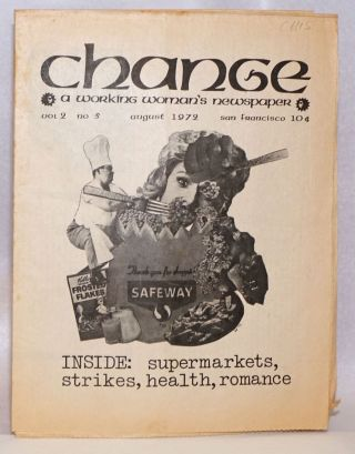 Change: a working woman's newspaper. Volume 2, No. 5, August 1972