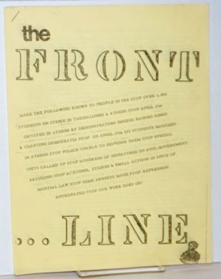 The front line. Vol. 1, no. 2