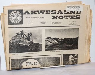 Akwesasne notes; where the partridge drums; early Autumn 1973 (August), volume 5 number 5