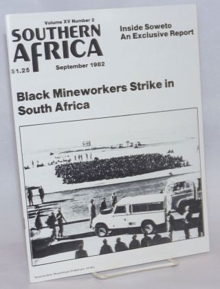 Southern Africa, volume XV number 2, September 1982