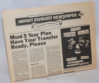Haight Ashbury Newspaper: A Collective Perspective; Vol. 2, No. 1, April 1979