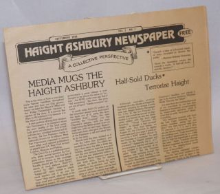 Haight Ashbury Newspaper: A Collective Perspective; Vol. 3, No. 7, September 1980