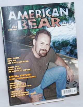American Bear: vol. 3, #2, whole #14, August/September 1996. Tim Martin, and publisher