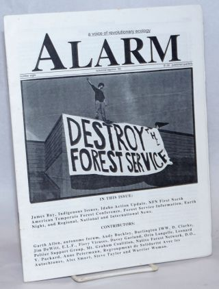 Alarm: A Voice of Revolutionary Ecology Number eight, autumnal equinox '93