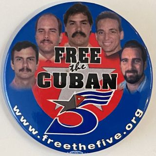 Free the Cuban 5 [pinback button